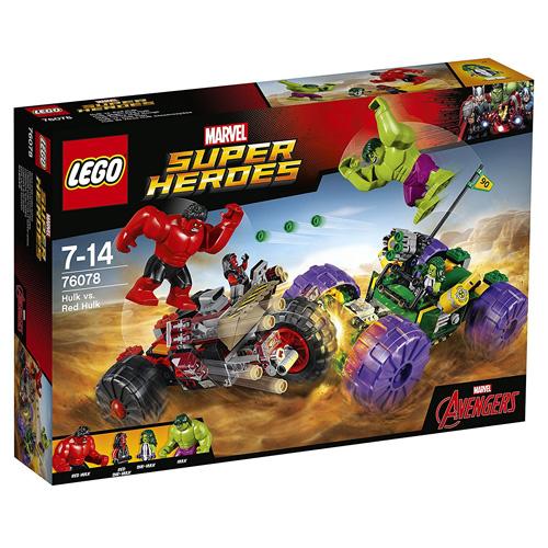 Stavebnice LEGO Super Heroes Hulk vs. Červený Hulk, 375 dílků