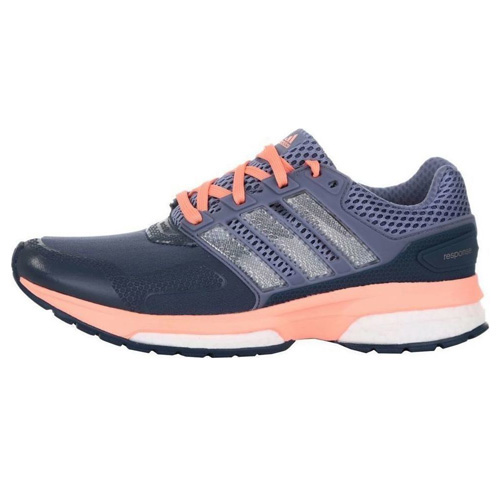 Adidas response 2 techfit w RUNNING | SHOES - LOW (NON FOOTBALL) | MINERBLUE/SUPEPURPL/S