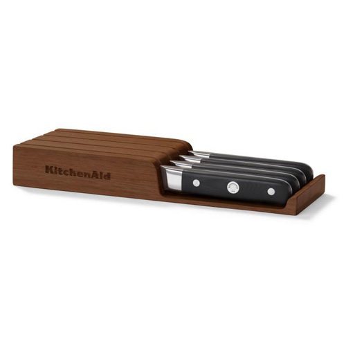 Steakové nože KitchenAid Professional,  dřevěném úložném boxu, 4ks