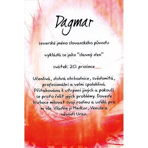 přání k svátku dagmar Blahopřání a přání do obálky | Přání Kouzlo tvého jména  přání k svátku dagmar